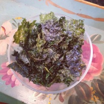 Kale Chip Photo for Blog